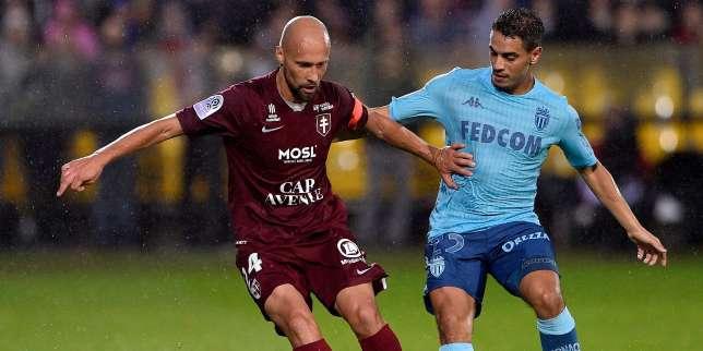 Ligue 1 : Monaco balayé à Metz, Lille battu à Amiens
