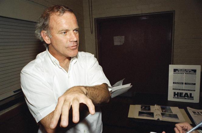 Kary Mullis à Los Angeles, en 1995.