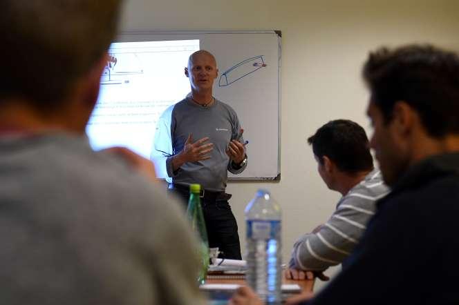 Dans un centre de l'Agence nationale pour la formation professionnelle des adultes à Lorient (Morbihan), en octobre 2016.