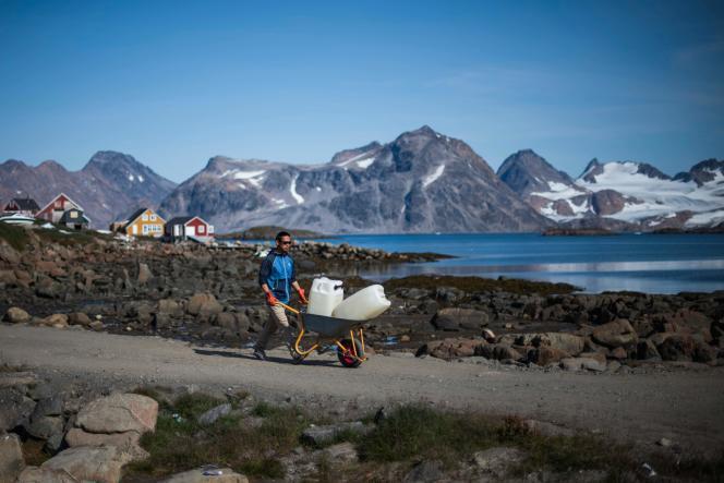 A Kulusuk, au Groenland, le 16 août.