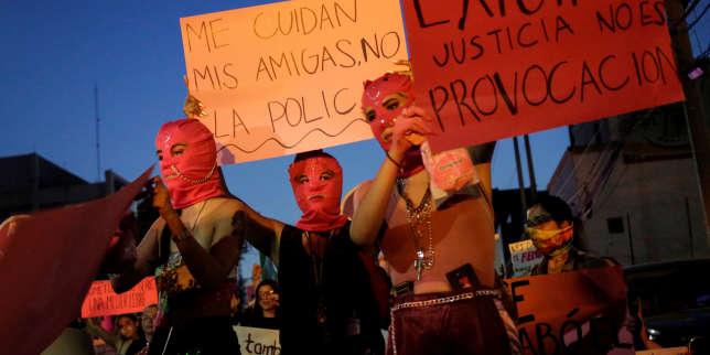 Des milliers de femmes manifestent auMexique à la suite d?accusations de viol commis par des policiers