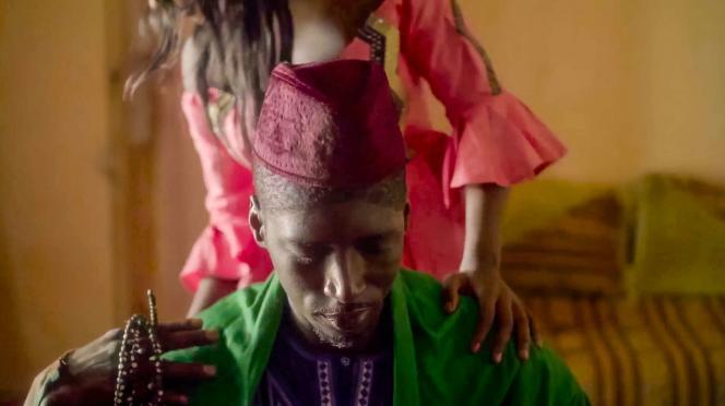 Alassane Sy dans «Baamum Nafi» (le père de Nafi), de Mamadou Dia, prix du meilleur premier film au 72e festival de Locarno.