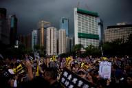 Manifestation pro-démocratie à Hongkong, le 18 août.
