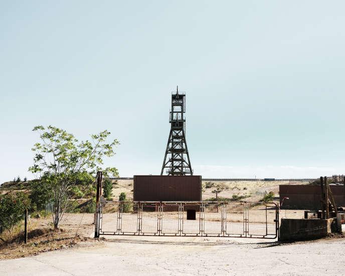 L'ancienne mine d'or et d'arsenicde Salsigne, dans l'Aude.