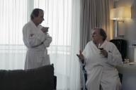 Michel Houellebecq et Gérard Depardieu dans«Thalasso», de Guillaume Nicloux.