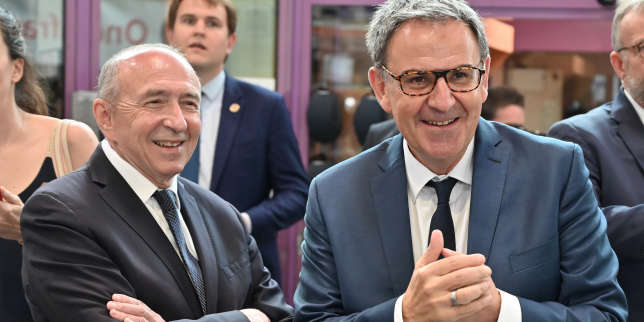 A Lyon, la lutte souterraine entre Gérard Collomb et David Kimelfeld