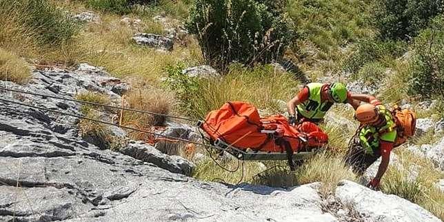 En Italie, le randonneur français Simon Gautier est mort d'une hémorragie juste après sa chute