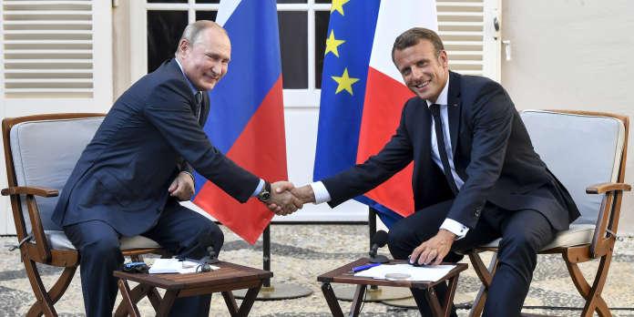 Ukraine, explosion en Russie et « gilets jaunes » : ce qu'il faut retenir de la conférence de presse de Poutine et Macron