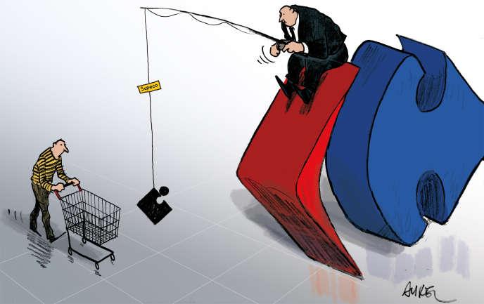 Carrefour tente une relance dans le discount