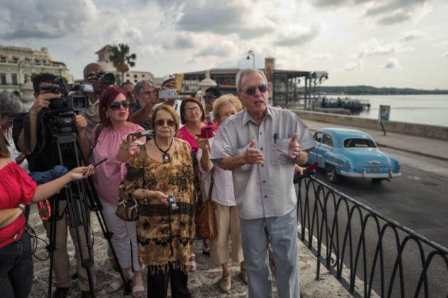 L'historien de la ville EusebioLeal Spengler, une personnalité bien connue à Cuba.