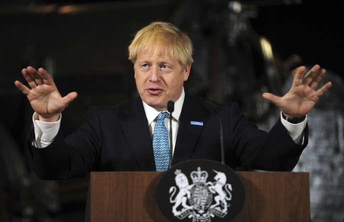 Le premier ministre britannique, Boris Johnson, le 27 juillet 2019.