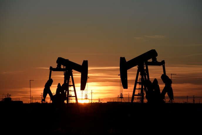 Un champ pétrolier, à Midland, au Texas, en août 2018.