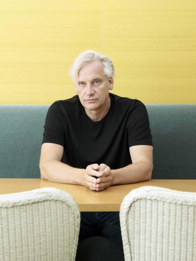 L'écrivain et réalisateur allemand Chris Kraus, à Paris, en juin 2019.