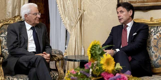 En Italie, le président du conseil, Giuseppe Conte, démissionne