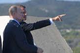 A Brégançon, Emmanuel Macron tend la main à la Russie, «profondément européenne»