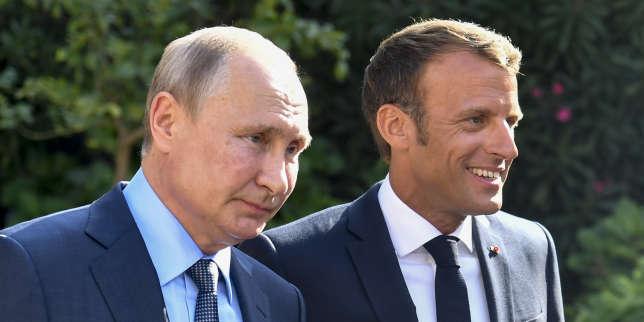 Russie: le pari du «temps long» d'Emmanuel Macron
