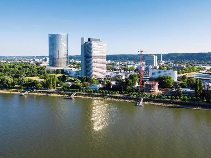 Le quartier du gouvernement fédéral à Bonn,où se trouvent sept ministères et de nombreux sièges d'administration, dont celui dela Cour fédéraledes comptes.