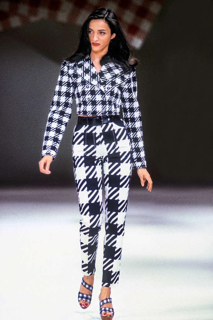 Alaïa collection été 1991.