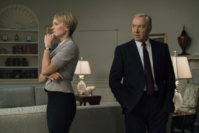 Robin Wright et Kevin Spacey dans « House of Cards  ».