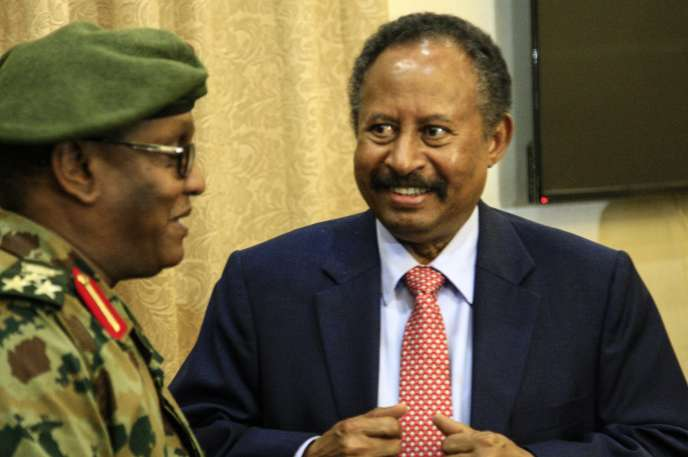 Abdallah Hamdok, mercredi 21 août à Khartoum.