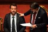 Italie: face à Salvini, le réveil tardif de Giuseppe Conte