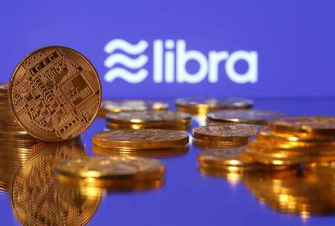 Le libra, future cryptomonnaie de Facebook.