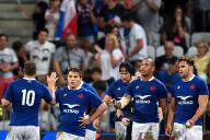L'équipe de France a battu l'Ecosse le 17 août 2019 à Nice (32-3).