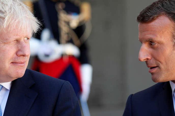 «On peut encore trouver un accord»: reçu à l'Elysée, Boris Johnson insiste sur un Brexit le 31octobre