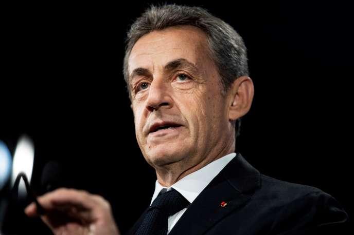 L'ancien président français Nicolas Sarkozy, le 21 juin à Paris.