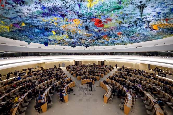 Le Haut-Commissariat des Nations unies aux droits de l'homme, à Genève, en 2018.