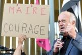 Le maire de Langouët, Daniel Cueff, convoqué par le tribunal administratif de Rennes pour avoir pris un arrêté antipesticides, le 22 août 2019.