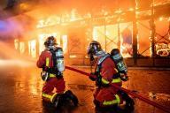 Entre 2008 et 2017, le taux d'agressions déclarées par les pompiers a augmenté de213%.
