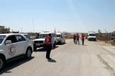 Le régime syrien a annoncé jeudi22août l'ouverture d'un corridor dans la région d'Idlib.