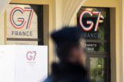 A Biarritz, le 22 août, avant le sommet du G7.