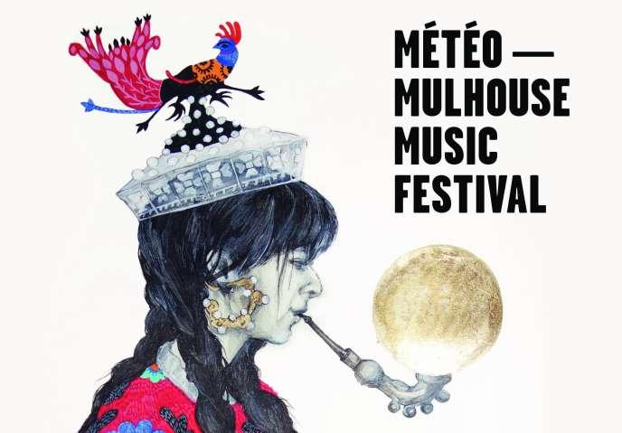 Affiche du festival Météo-Mulhouse Music Festival.