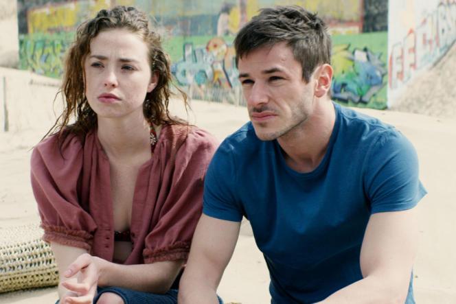 Freya Mavor (Louise) et Gaspard Ulliel (Vincent) dans« Il était une seconde fois», deGuillaume Nicloux.