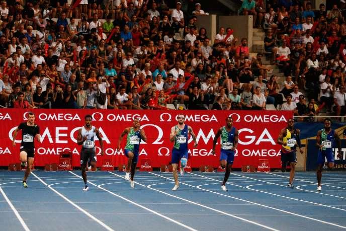 Christophe Lemaitre est sélectionné pour le 200 m des Mondiaux de Doha.