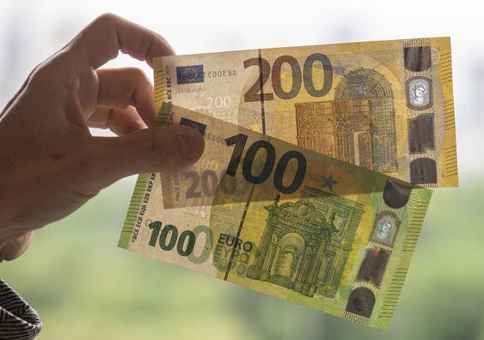 A la Bundesbank, à Francfort, en mai.
