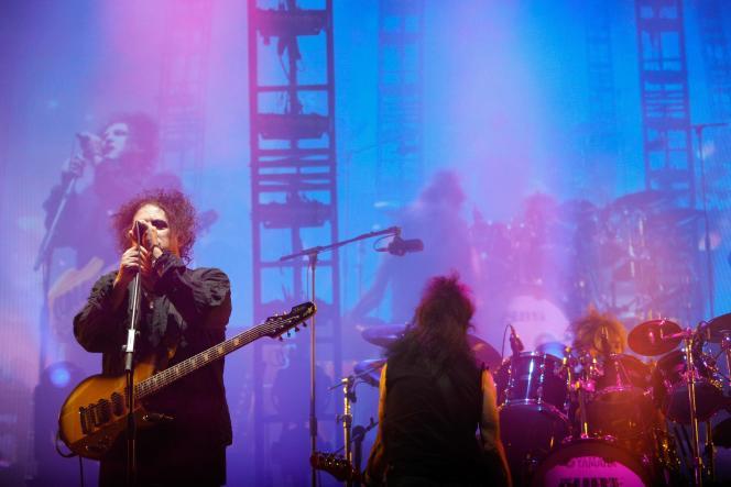 The Cure en concert, le 23 août, à Saint-Cloud pour Rock en Seine.