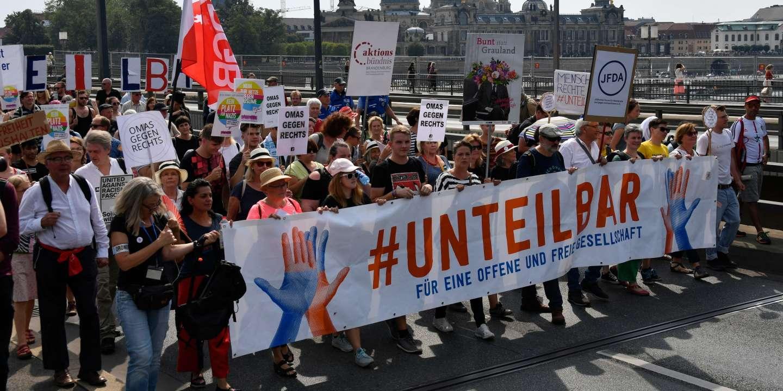 Allemagne : des milliers de personnes manifestent à Dresde contre l'extrême droite