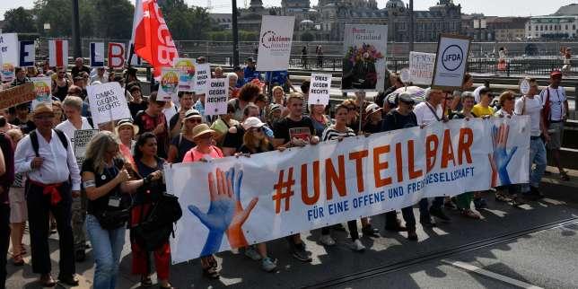 «Pas de place pour les nazis»: 35000 manifestants à Dresde contre l'extrême droite