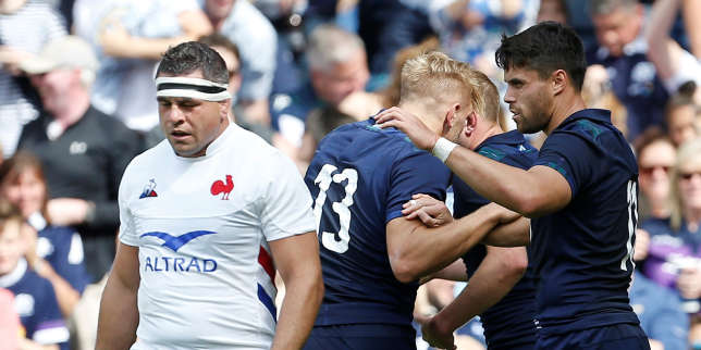 Rugby : le XV de France s'incline en Ecosse (17-14)