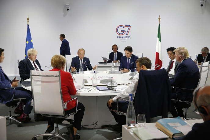 Au sommet du G7, le nucléaire iranien et la Russie au cœur des discussions