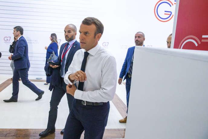 G7: Macron à la manœuvre sur l'Iran et les autres dossiers brûlants