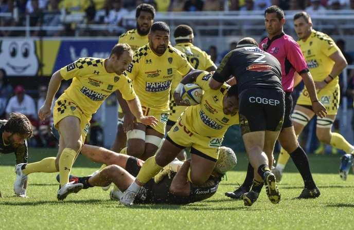 Clermont s'est imposé dimanche contre La Rochelle.