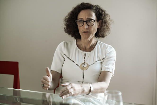 Emmanuelle Wargon, secrétaire d'Etat auprès de la ministre de la transition écologique et solidaire, le 23 août à Paris.