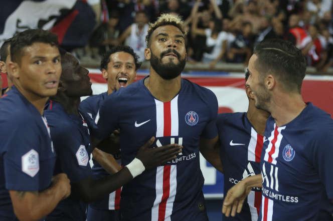 Eric Choupo-Moting a ouvert le score pour le PSG dimanche contre Toulouse.