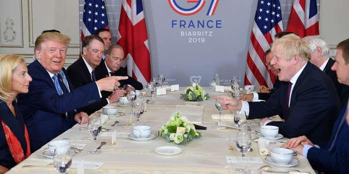 Au sommet du G7 à Biarritz, Donald Trump adoube Boris Johnson