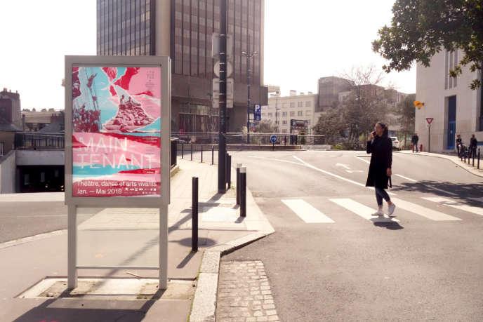 Affiche du studio Super Terrain pour le lieu de création TU-Nantes, en 2018.