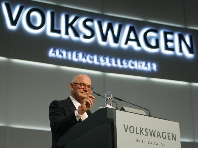 Ferdinand Piëch était né en 1937, la même année que le constructeur automobile.
